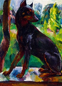 eszter mattioni's favourite dog by vilmos aba-novák
