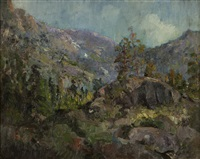 san bernardino mountains by john bond francisco
