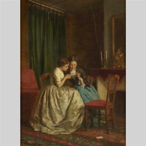 the billet doux by théophile emmanuel duverger
