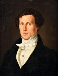 portrait du comte de brostom by john scoles