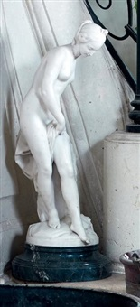 la baigneuse by etienne maurice falconet