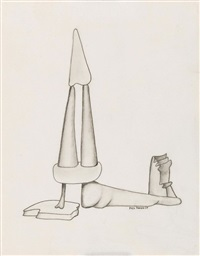 ohne titel by yves tanguy