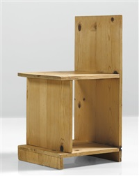 prototype chair by donald judd