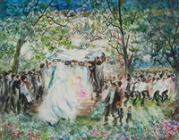 the wedding by huvy