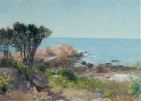 coastal scene by frederick porter vinton