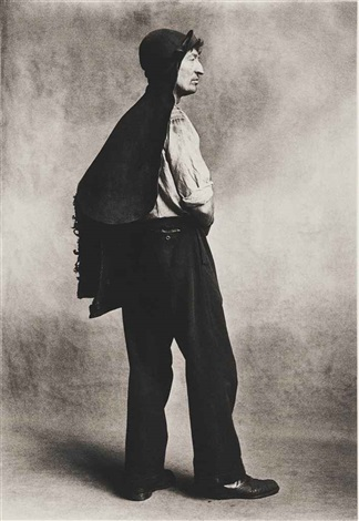 coalman london by irving penn
