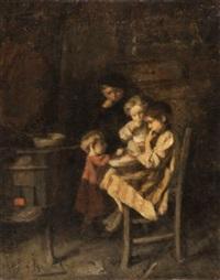 le goûter des enfants by edouard d' apvril