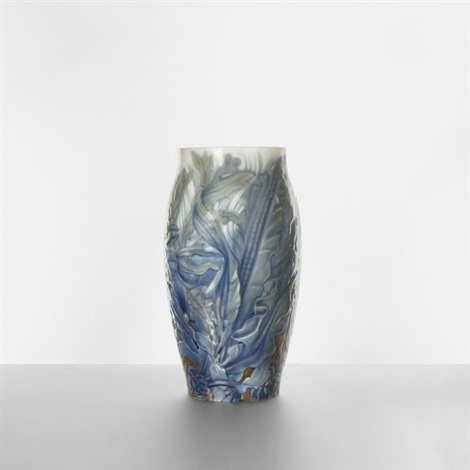 monumental vase by effie hegermann lindencrone
