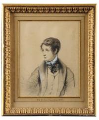 le prince jérôme napoléon en 1833, à l'âge de 11 ans by felix cottrau