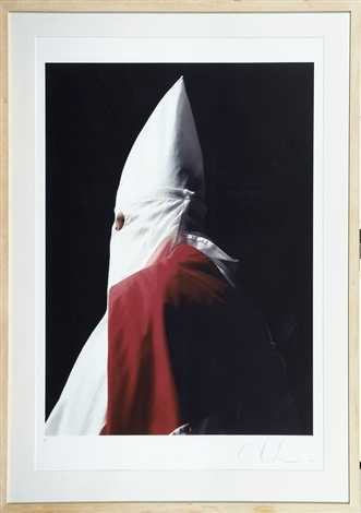 klansman great titan of the invisible empire by andres serrano