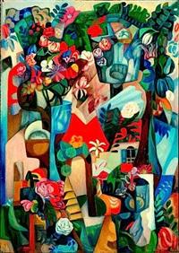 bouquet-paysage by francois angiboult