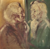 vor dem spiegel by frantisek jiroudek