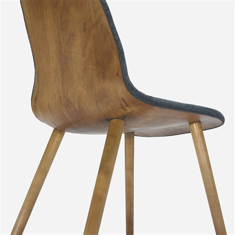 chair from the museum of modern art organic design competition by eero saarinen and charles eames