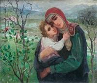 maternité by vladimir ivanovitch seleznev