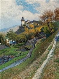trenninghof in mühldorf bei spitz by rudolf weber