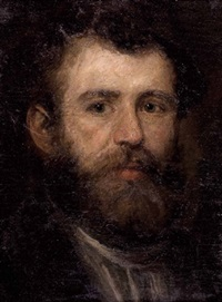 portrait wohl eines malers (böcklin?) by arnold böcklin the elder