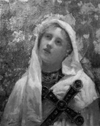 sainte en extase by eugenio alvarez dumont
