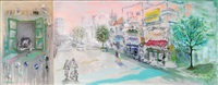 boulevard in tel aviv by dina enoch