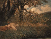 in the orchard by jacobus leisten