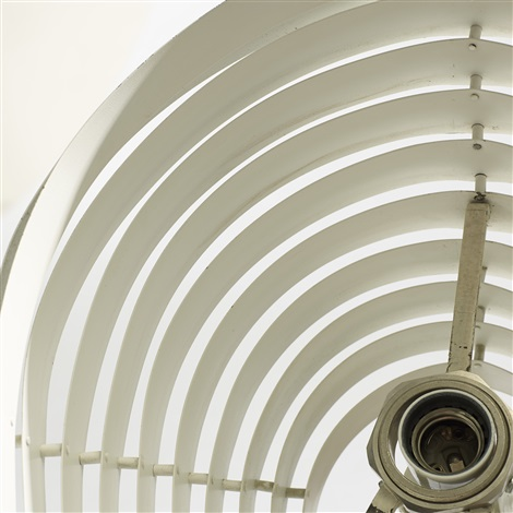 angel wing floor lamp model a805 by alvar aalto