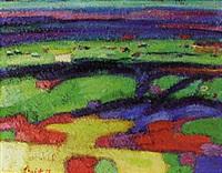 landscape by engelbert l' hoest