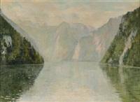 lac de montagne by georgette agutte