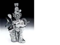 fisherman golfer (from luxury and degradation) by jeff koons