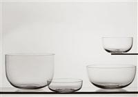 glasschalen by willi moegle