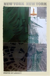 statue of liberty by robert rauschenberg