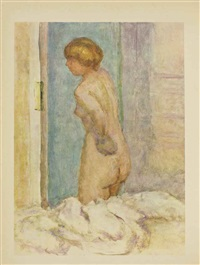 bonnard; tableaux de paris (2 works) by pierre bonnard