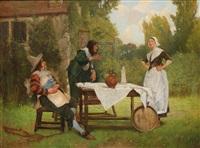 cheerful company by edgar bundy