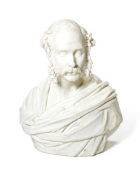 bust of a gentleman by john adams-acton