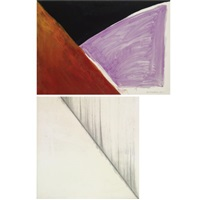 untitled (2 works) by rob van koningsbruggen