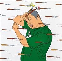 还在画画? (still painting?) by chen fei