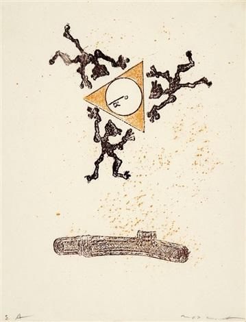 o.t., pl. xxvi (from zu: lewis carrolls wunderhorn) by max ernst