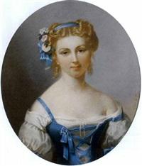 ritratto di giovane donna by théodore fantin-latour