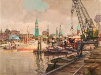 port of hamburg by marco varutti-klefenhausen