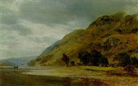 view of loch esk by james docharty