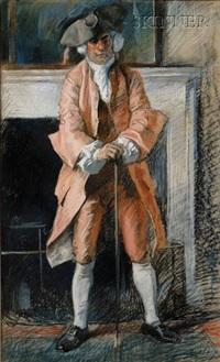 colonial man by edwin austin abbey