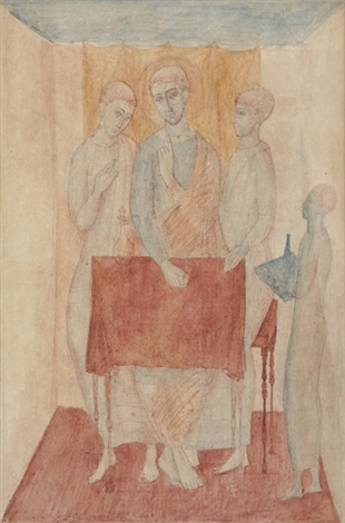 holy scene by justin maurice obrien