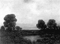 landscape by leonard woodruff