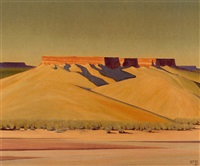 shadows at jeddito arizona by harold buck weaver