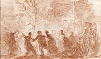 danse autour de l'arbre de la liberté by françois valentin