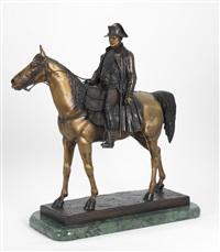 emperor napoleon i astride his horse