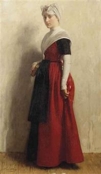 orphan girl by nicolaes van der waay
