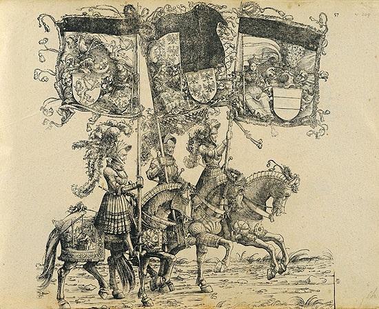 Kaiser Maximilian I  Triumph, Wien Schmidt 135 works by Hans