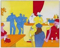 le bar jaune by lionel koechlin