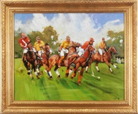 polo match by john haskins