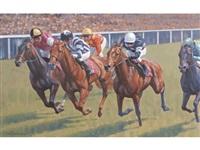 the finish, john smith's stakes, york, season by neil cawthorne
