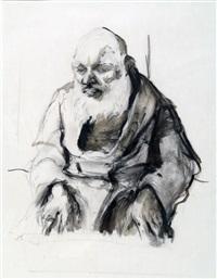 figure from jerusalem by anna ticho